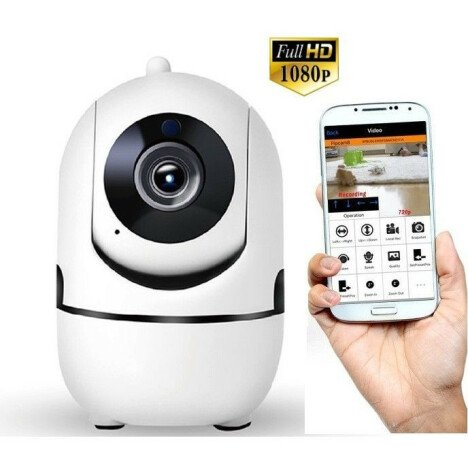 Camera de supraveghere iUni IP2611 Full HD, IP, Wireless, P2P, PT, slot card SD